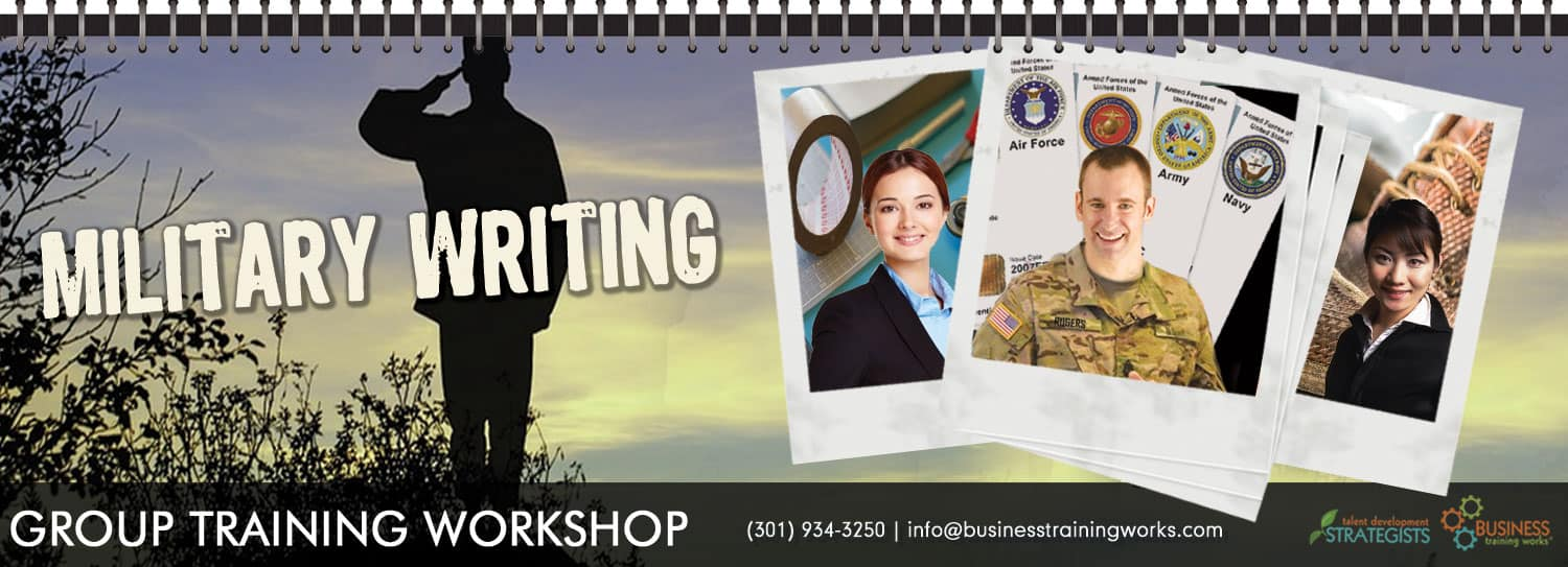 Military Writing Course