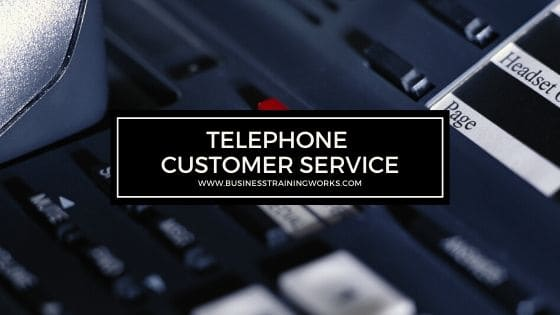 Telephone Customer Service Training