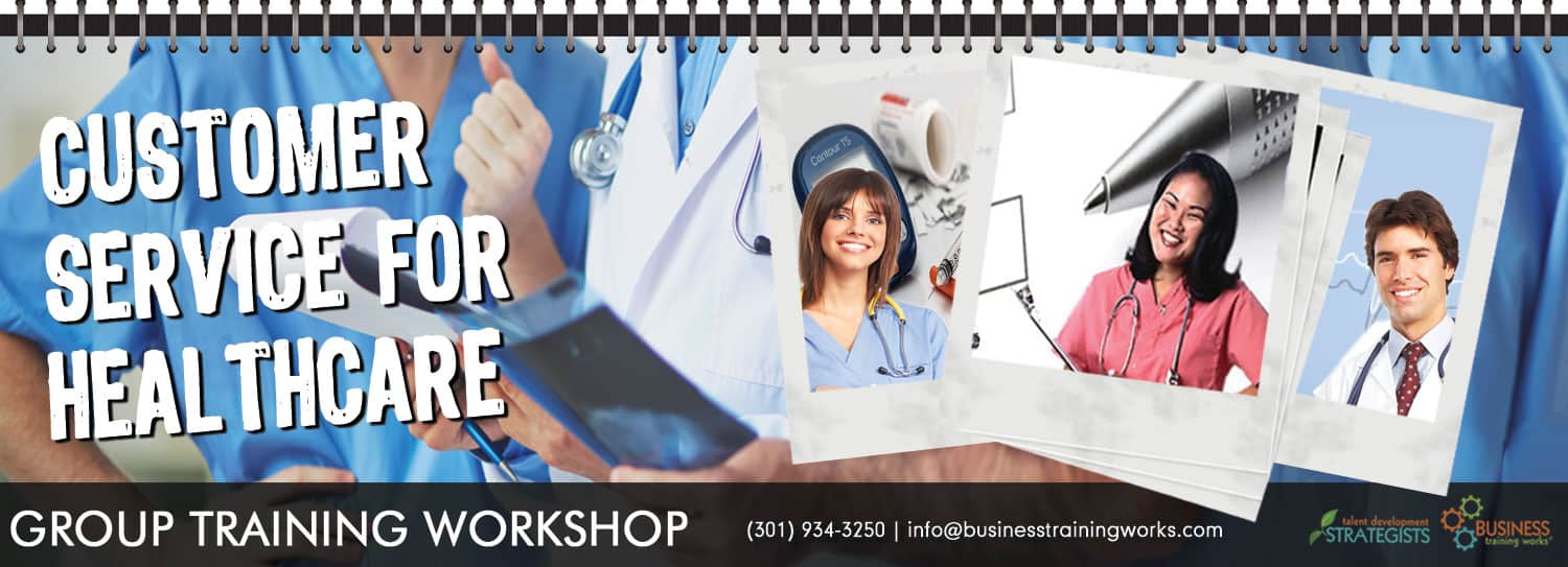 customer service training for healthcare hospitals and medical centers