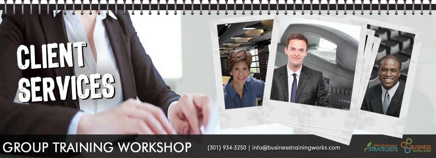 Client Services Training Course