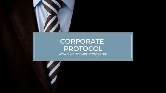 Corporate Protocol Training
