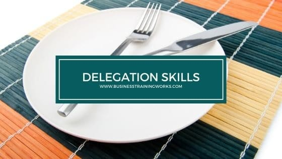 Delegation Skills Training