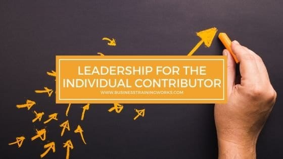 Leadership Training for Individual Contributors