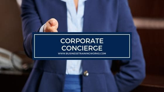 Corporate Concierge Training