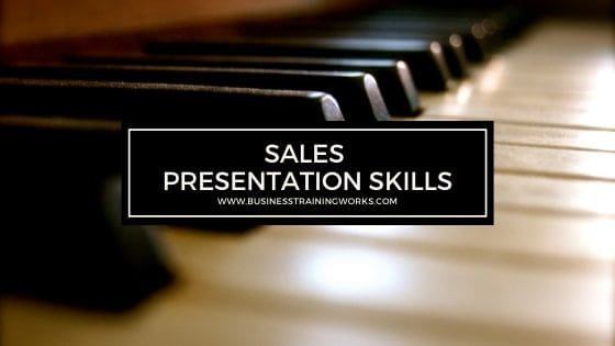 Sales Presentation Skills Training