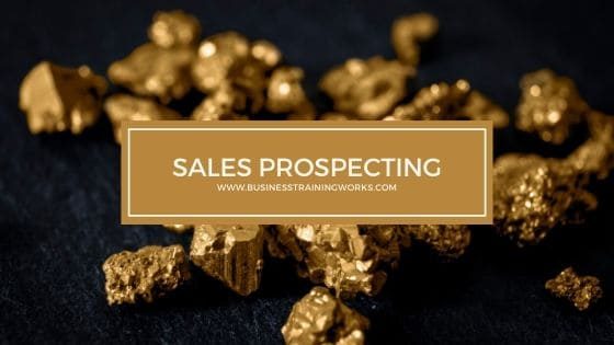 Sales Prospecting Training