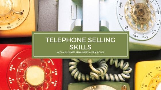 Sales Training for Telephone Sales