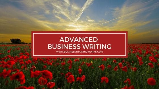 Advanced Business Writing Training