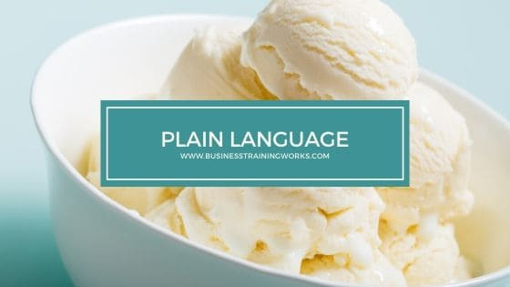 Plain Language Training