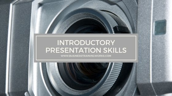 Introductory Presentation Skills Training