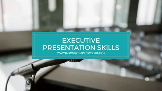 Executive Presentation Skills Training