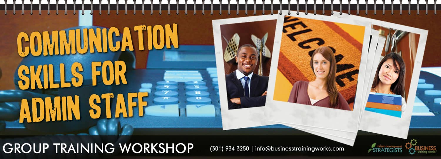 Communication Skill Training Course for Administrative Assistants