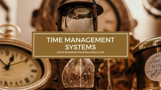 Time Management Systems Training