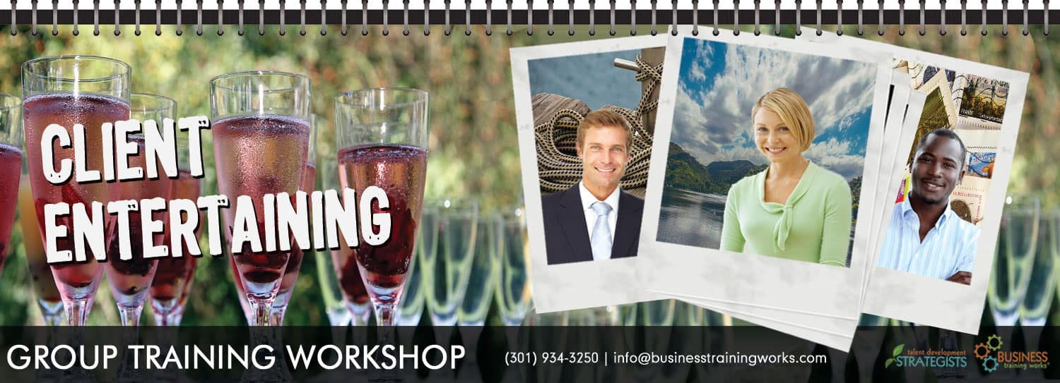 Entertaining High-Net-Worth Clients Training Course