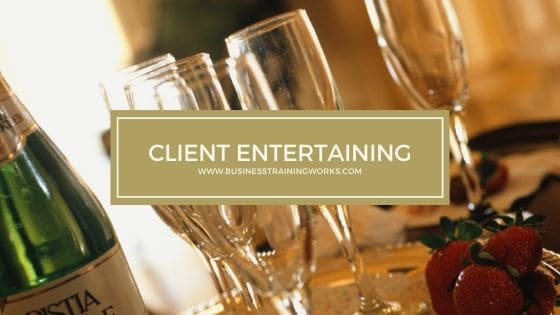 Client Entertaining