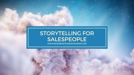 Storytelling Training for Salespeople