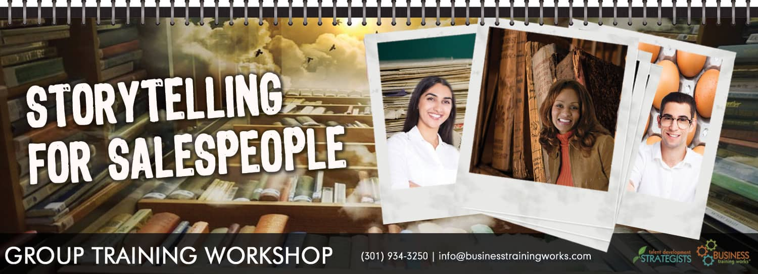 Storytelling Course for Salespeople Training Workshops