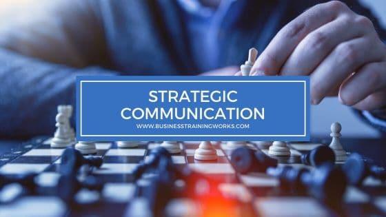 Strategic Communication Skills Training