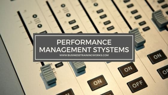 Performance Management Systems Training