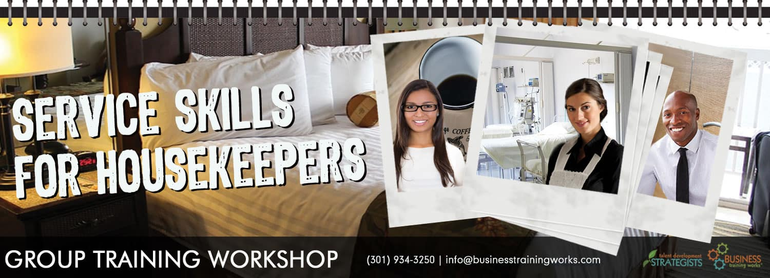 Customer Service for Housekeepers and Environmental Services Professionals