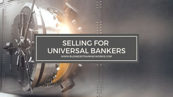 Sales Training for Banking and Credit Unions