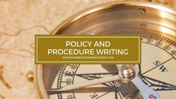 Policy and Procedure Writing Training