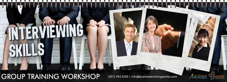 Interviewing Skills Training, Course, Workshop, Program