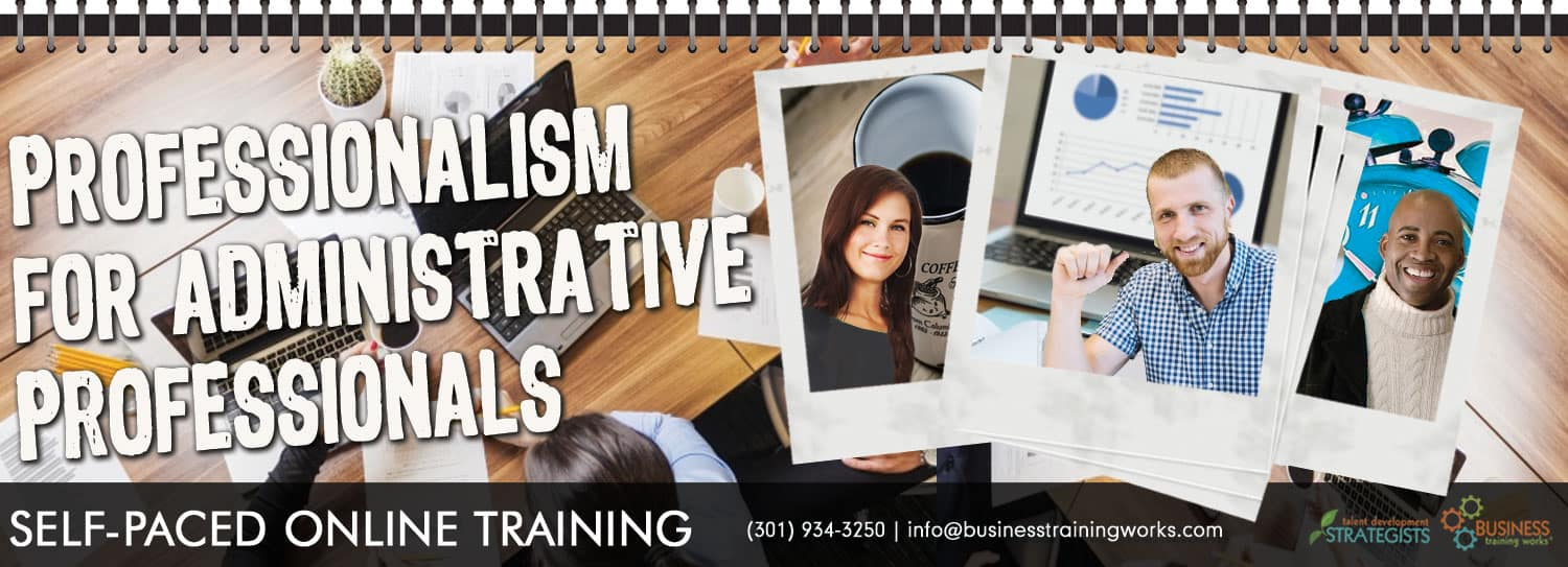 Online Administrative Assistant Training, Course, Program