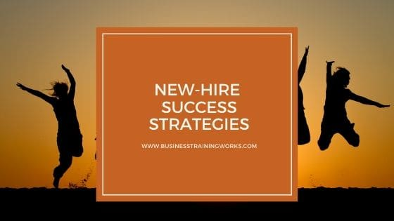 Online New Hire Success Course