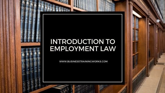 Online Basic Employment Law Course