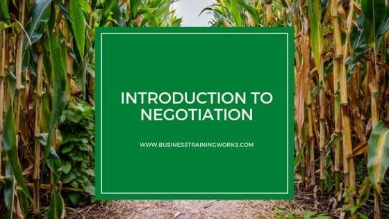 Online Negotiation Courses
