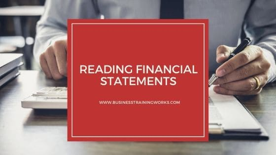 Reading Financial Statements Online Course