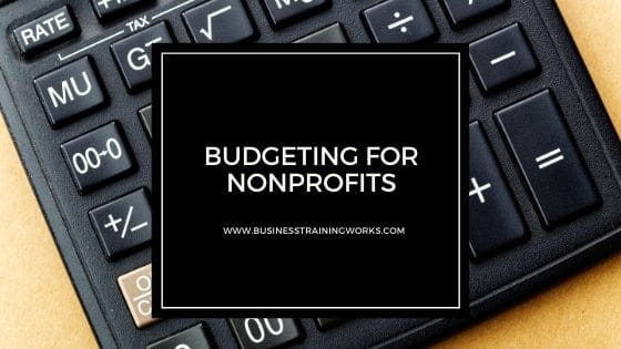 Budgeting for Nonprofits Online Course