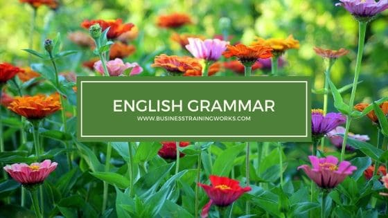 English Grammar Training