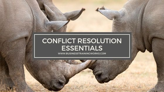 Basic Conflict Resolution Training