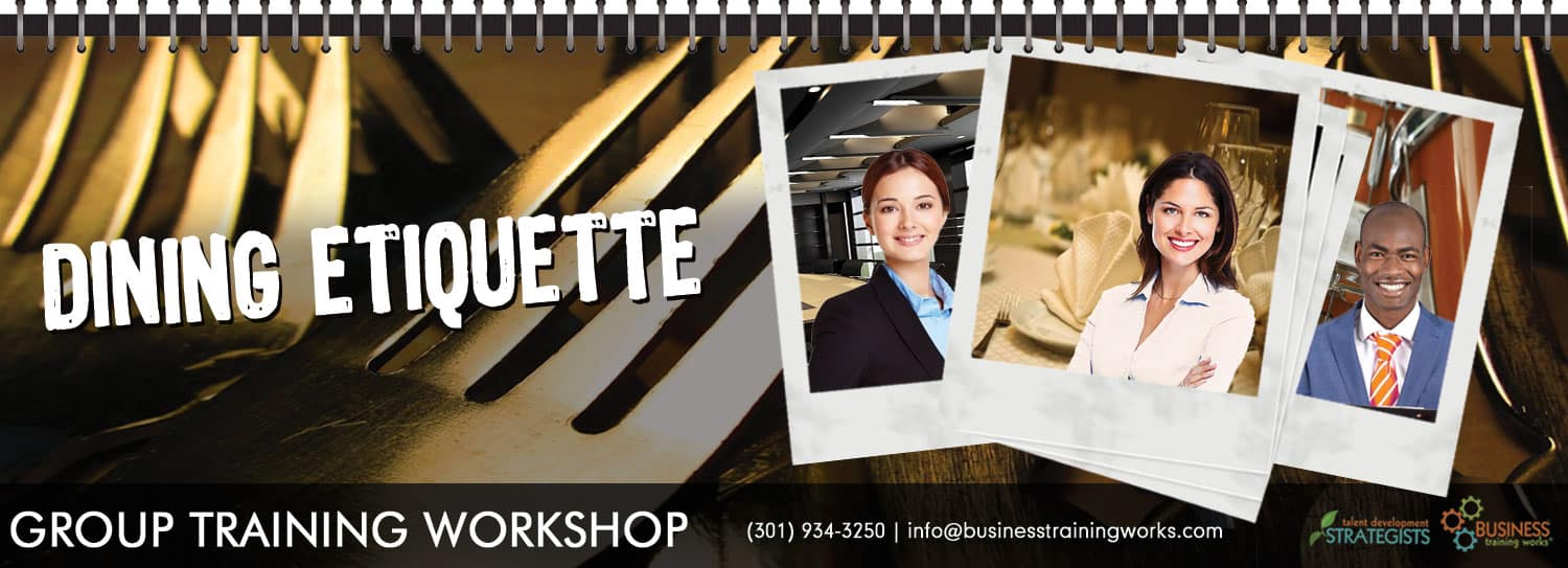 Dining Etiquette Course, Workshop, Training Program