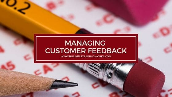 Managing Customer Service Feedback Training