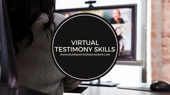 Virtual Testimony Training