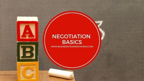 Basic Negotiation Virtual Training Course