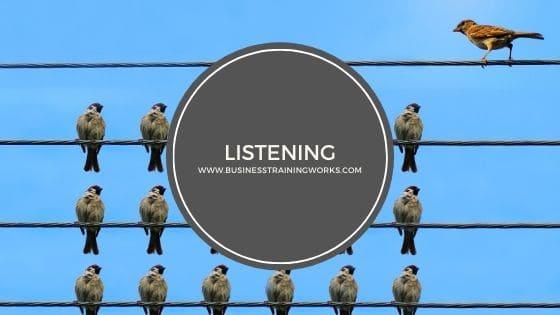 Listening Skills Webinar