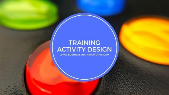 Training Activity Design Webinar