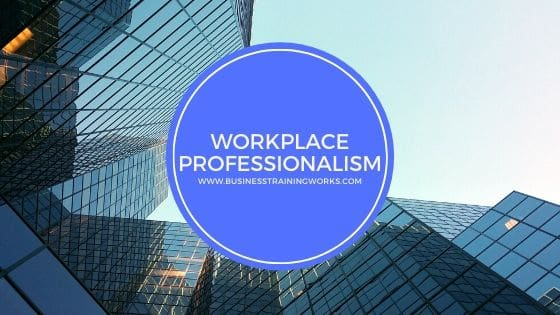 Workplace Professionalism Webinar