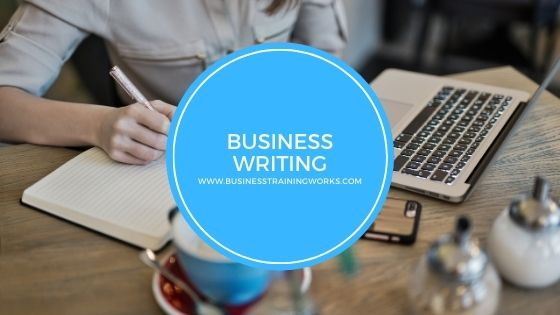 Online Instructor-Led Business Writing Training