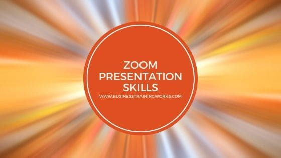 Zoom Presentation Skills