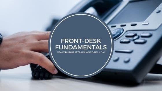 Front Desk Skills Virtual Training Course