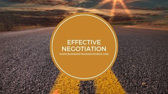Virtual Negotiation Skills Training Course
