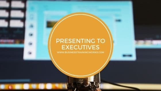 Online Presenting to Executives Training