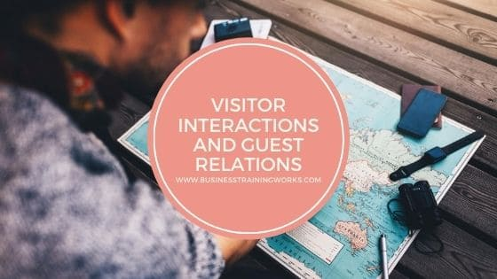 Visitor Interactions Training Webinar