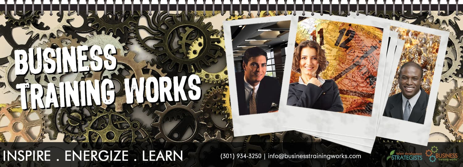 Business Training Works, Inc. - Business Training Works is a leading onsite training provider: etiquette, customer service, presentation skills, communication, business writing, sales, leadership, time management courses and workshops.