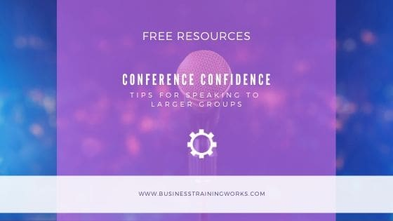 Conference Speaking Tips